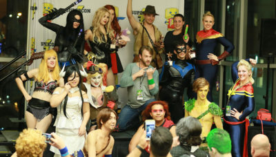 "Supergirls and Superboys of Supercon ""Late Night"" Contest"
