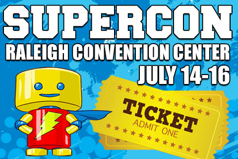 Win VIP Tickets to Raleigh Supercon