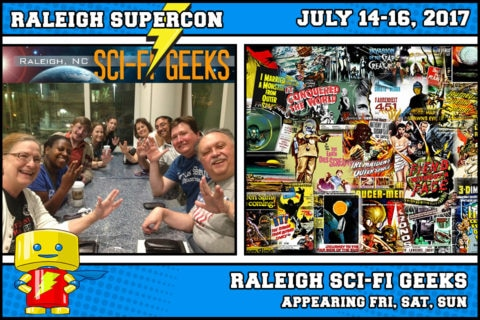 The Raleigh Sci-Fi Geeks