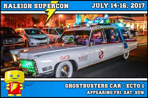 The Ghostbusters' ECTO -1