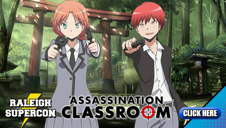 Assassination Classroom at Raleigh Supercon