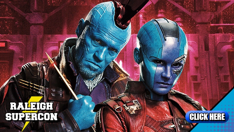 Guardians of the Galaxy stars come to Raleigh Supercon