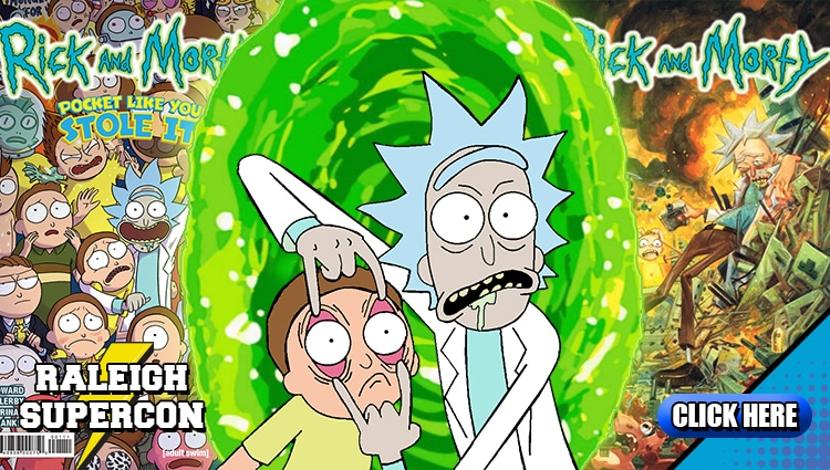 Rick and Morty at Raleigh Supercon