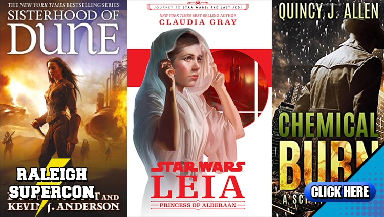 Sci-Fi and Fantasy Authors and Publishers come to Raleigh Supercon