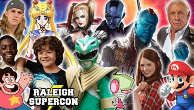 WIN a PAIR of WEEKEND PASSES to RALEIGH SUPERCON