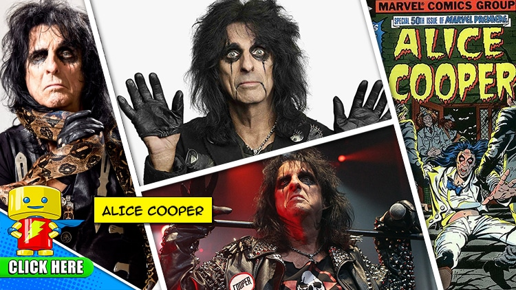 Enter to Win a Meet & Greet with ALICE COOPER at Raleigh Supercon