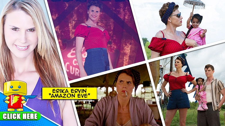 """ENTER to WIN a MEET & GREET with Erika Ervin """"Amazon Eve"""" at Raleigh Supercon"""