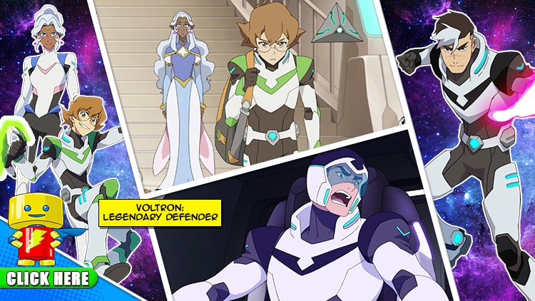 ENTER to WIN a MEET & GREET with The Paladins of Voltron