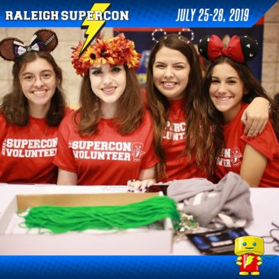Volunteer for Raleigh Supercon