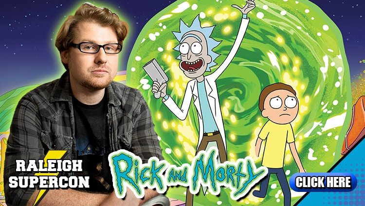 WIN a MEET & GREET with RICK & MORTY co-creator, star, and producer JUSTIN ROILAND