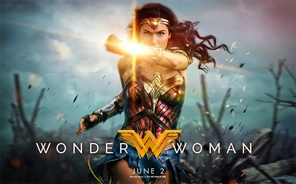 Win two tickets to see Wonder Woman 3D at Marbles IMAX