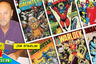 Meet Jim Starlin at Raleigh Supercon