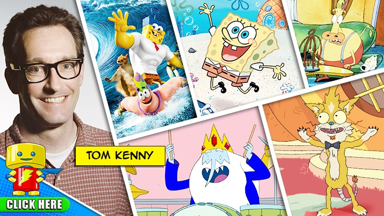 Enter to Win a Meet & Greet with Tom Kenny at Raleigh Supercon