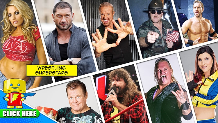Enter to Win Two Weekend Passes to Raleigh Supercon and meet Wrestling Superstars