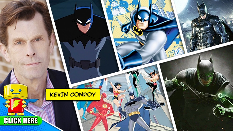 ENTER to WIN a MEET & GREET with Kevin Conroy at Raleigh Supercon