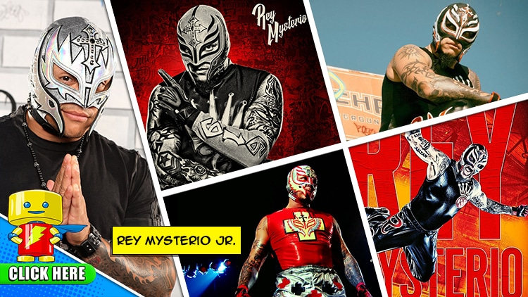 ENTER to WIN a MEET & GREET with Rey Mysterio Jr.