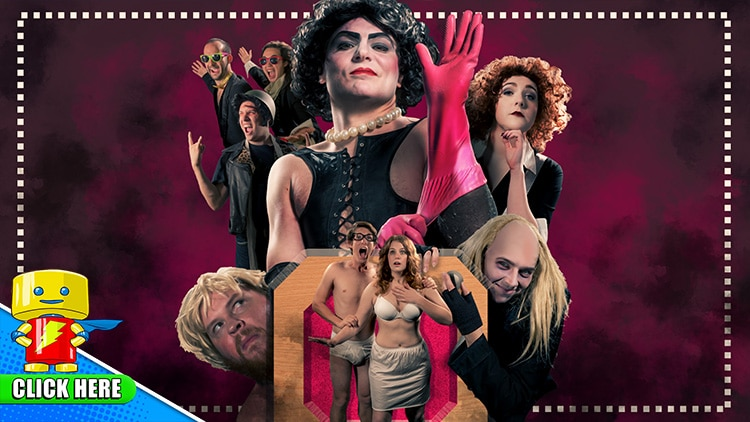 """The Rocky Horror Picture Show at Raleigh Supercon Hosted By Barry Bostwick """"Brad"""" & Patricia Quinn """"Magenta"""""""