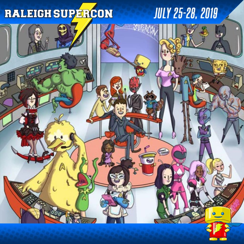 Raleigh Supercon 2018 Program Guide
