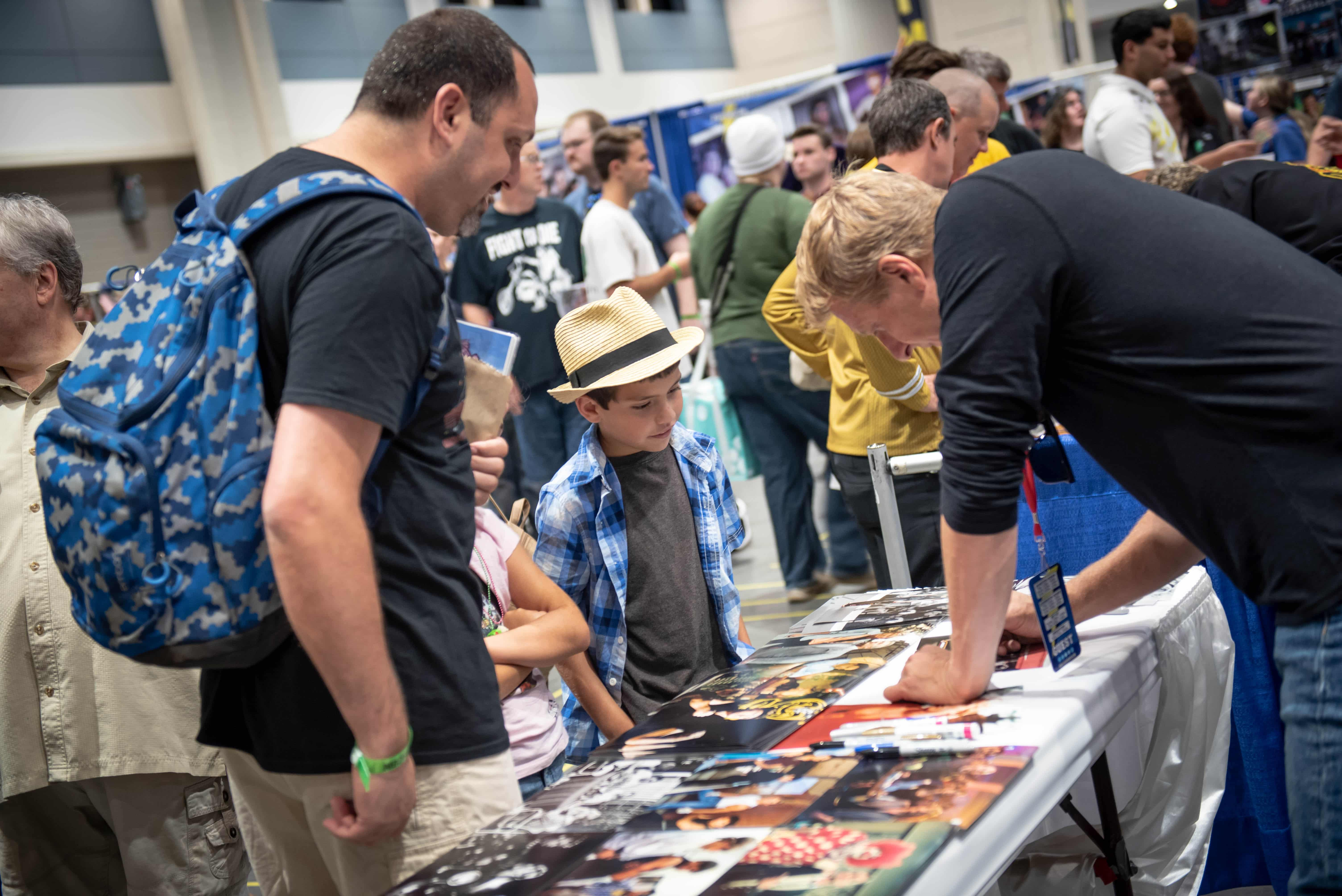GalaxyCon Raleigh is July 25-28 at the Raleigh Convention Center