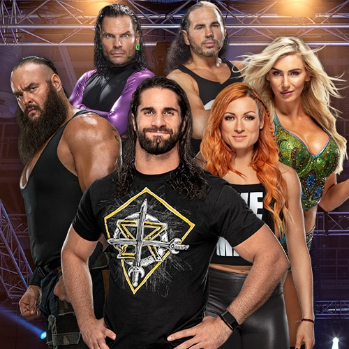 WWE® Superstars - GalaxyCon Raleigh